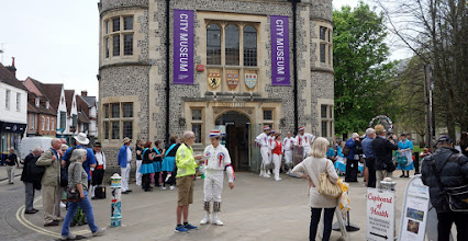 Photo: WAITING TO DANCE   https://www.hampshireculturaltrust.org.uk/winchester-city-museum