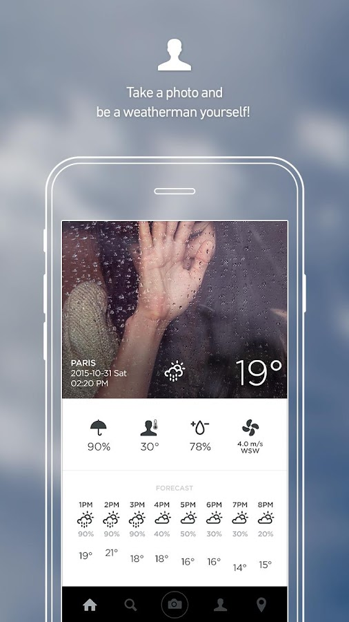 Take Weather (Photo & Sharing)- screenshot
