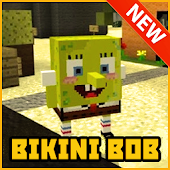 Bikini Bob Maps Mods for MCPE