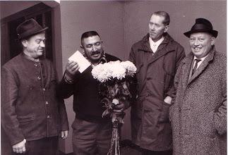 Photo: 1969: Verabschiedung von Sinclair