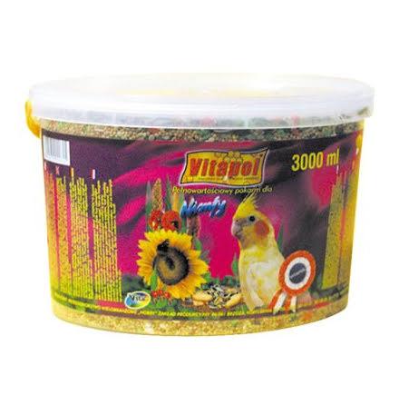 VitaPol Foder Parakit 2,4kg 3 Liter