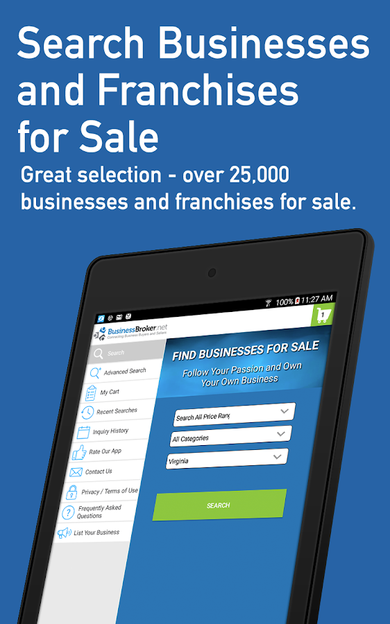 Businesses for Sale- screenshot