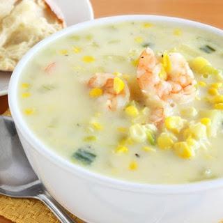 Shrimp & Corn Chowder.