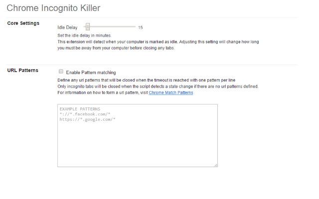 Chrome Incognito Killer