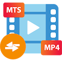 Convert MTS to MP4 icon