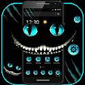 Dark Evil Smile Cat Theme icon