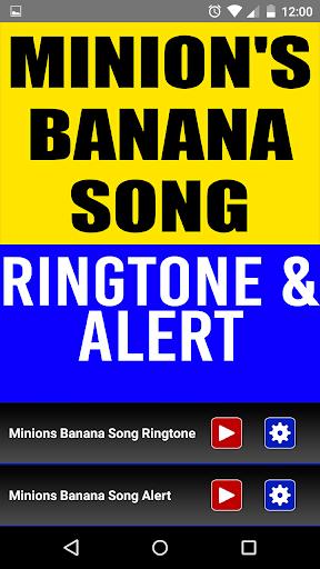 Minion's Banana Song Ringtone