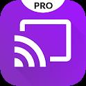 Video & TV Cast + Roku Remote & Movie Stream App icon