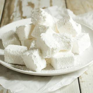 Corn Syrup Free Marshmallows.