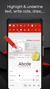 PDF Reader And Editor With Text Edit, Ebook Viewer Screenshot
