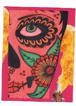 Photo: Wenchkin's Mail Art 366 - Day 205- Card 205a