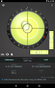 Compass Level & GPS Screenshot