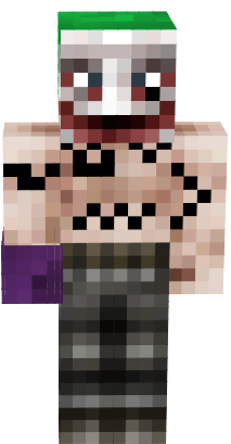 Joker Jared Leto Nova Skin - Skins para minecraft pe joker