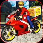 Multi Speed Alien Ben Hero Moto Pizza Delivery icon