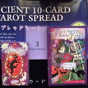 The Halloween Tarot Deck and Book Set タロットカード