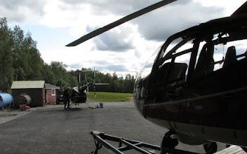 Photo: Laisholm Heliport, Jämtlands Flyg