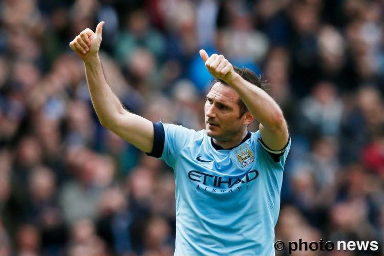 New York annonce le départ de Frank Lampard