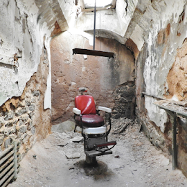 The Barber's Chair by Gary Ambessi - Buildings & Architecture Decaying & Abandoned