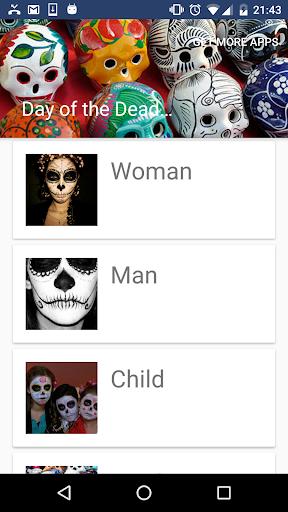 玩免費遊戲APP|下載Day of the Dead Make Up app不用錢|硬是要APP