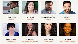 El equipo de La Tropa Produce en una imagen extraída de su web.