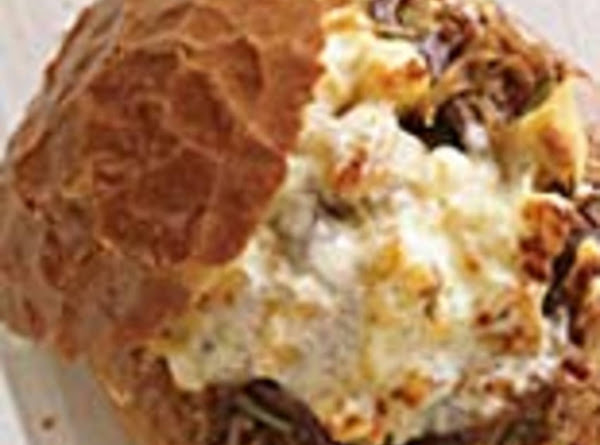 Philly Cheese Steak-stuffed Garlic Bread Recipe