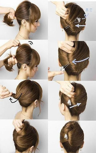 Hair Styling Tips step by step