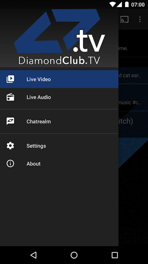 Diamond Club TV- screenshot