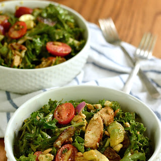 Kale Cobb Salad with Balsamic Vinaigrette Recipe