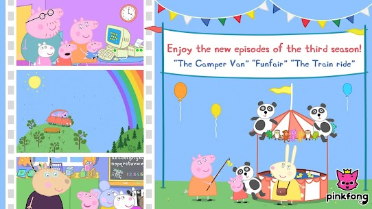 Peppa Pig 1~3 : Videos for kids & Coloring 2