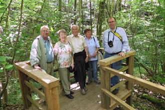 Photo: Wanderung im Elm zum Wandertag der biologischen Diversität, hier an der Bachschwinde