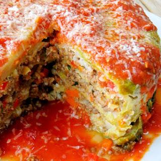 Stuffed Cabbage Cake.