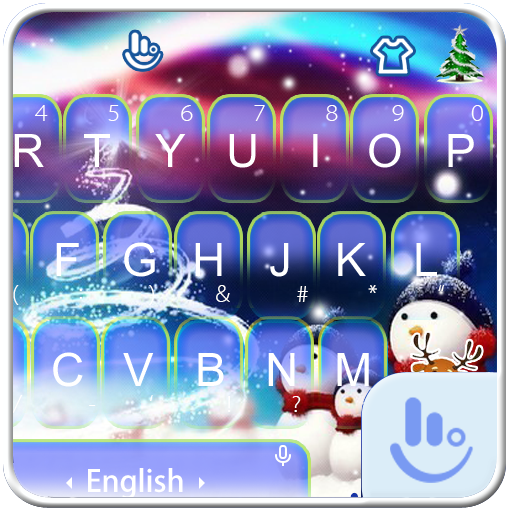 Magic Christmas Keyboard Theme