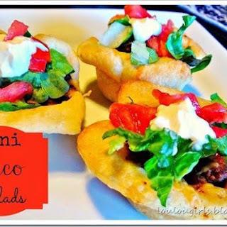 Mini Taco Salads Recipe