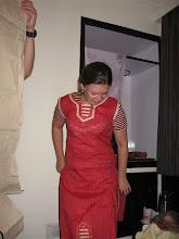 Photo: Táňa v Indickém oblečku