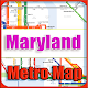 Download Maryland USA Metro Map Offline For PC Windows and Mac
