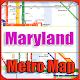 Maryland USA Metro Map Offline APK
