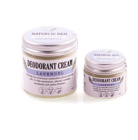 Deodorant kräm Lavendel