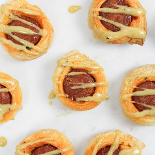 Sausage Puff Pastry Appetizers.
