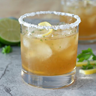 Preserved Lemon Spicy Margarita.