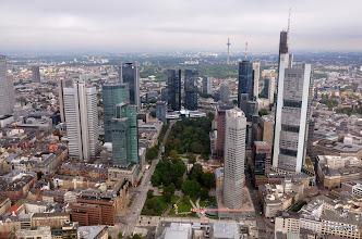 Photo: Frankfurt, from where I left.