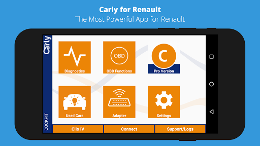 Carly for Renault (OBD App)  screenshots 1