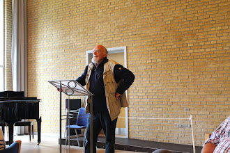Photo: Martin A. Hansens søn Hans-Ole Hansen fortæller om faderens romaner og hans barndom.