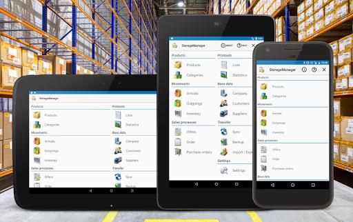 Storage Manager :  Stock Tracker  screenshots 1