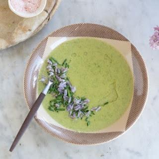 A Simple Asparagus Soup.