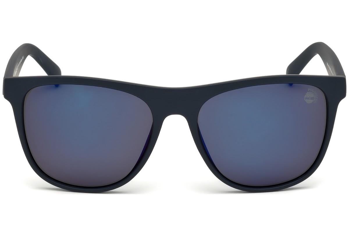 80f4180901c0 Polarized Sunglasses Timberland TB9124 C56 91D (matte blue / smoke  polarized)