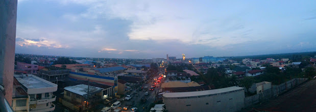 Photo: View of Dagupan City from Quattro Grill Viewdeck