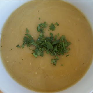 Green Chile Tomatillo Soup.