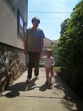 Photo: Mamával (aki Dédi)