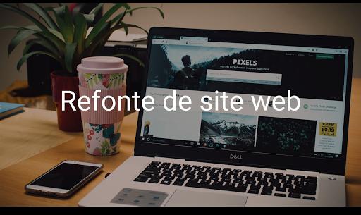 Refonte site web freelance