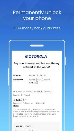 Unlock Motorola Phone - Unlockninja.com 1.0 screenshots 3